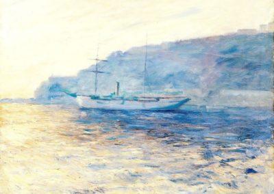 La baie de Monaco - Claude Monet (1884)