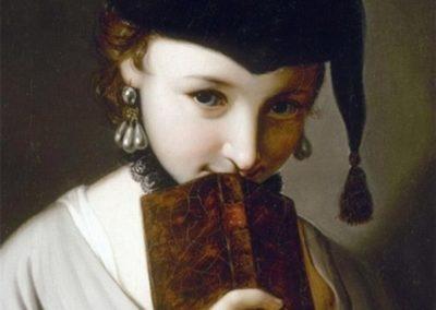 La jeune fille au livre - Pietro Antonio Rotari