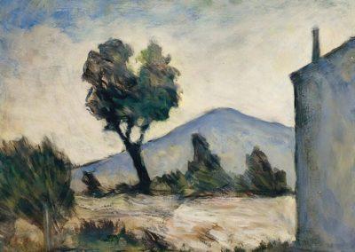 La maison de Merate - Carlo Carra (1958)