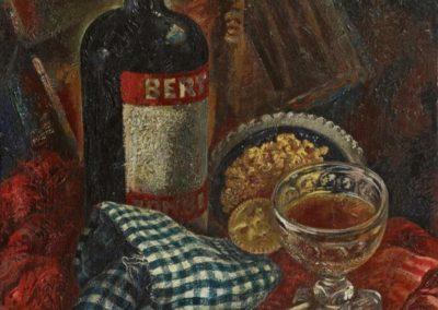 La nappe a carreaux - George Grosz (1936)