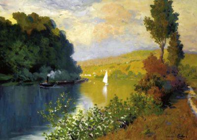 La rive - Maurice Chabas 1929