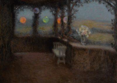 La tonnelle - Henri Le Sidaner 1902