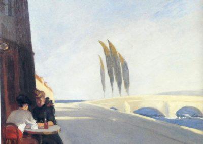 Le bistro - Edward Hopper (1909)