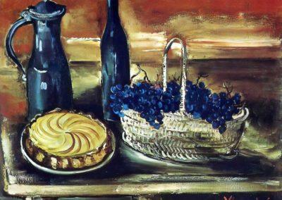 Le panier de raisins - Maurice de Vlaminck (1920)