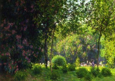 Le parc Monceau - Claude Monet (1878)