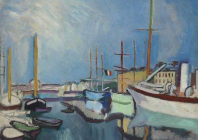 Le port du Havre - Raoul Dufy (1906)