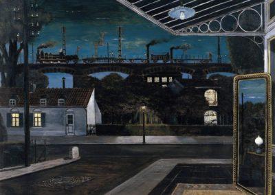 Le viaduc - Paul Delvaux (1963)