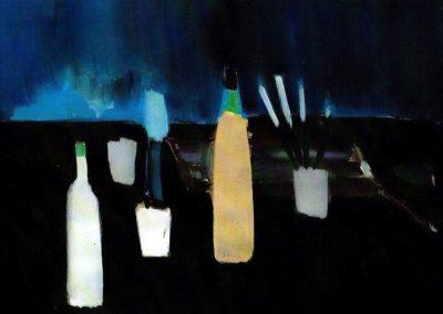 Les bouteilles - Nicolas de Staël (1951)