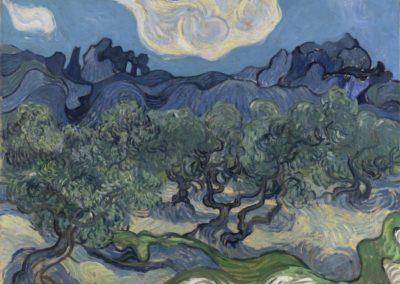 Les oliviers - Vincent Van Gogh (1889)