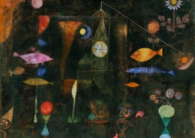 Magie des poissons - Paul Klee (1925)