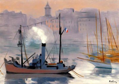 Marseille - Moise Kisling (1939)