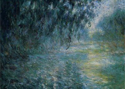 Matin pluvieux sur la Seine - Claude Monet (1898)