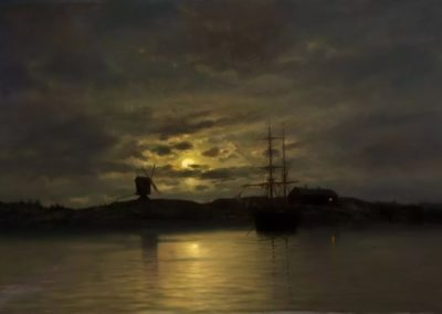 Moonlight - Oscar Kleineh (1887)