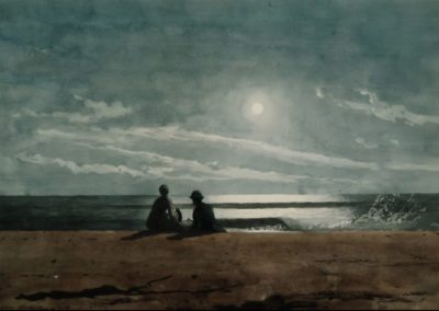 Moonlight - Winslow Homer (1874)