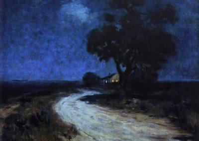 Moonlight in South Texas - Robert Julian Onderdonk (1912)