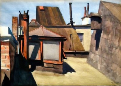 My roof - Edward Hopper (1928)