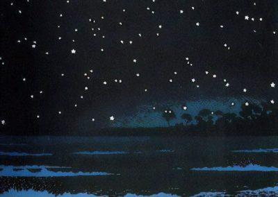 Night Sea - Kawase Hasui (1931)