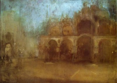 Nocturne blue and gold - St Marks, Venice - James Abbott McNeill Whistler (1880)