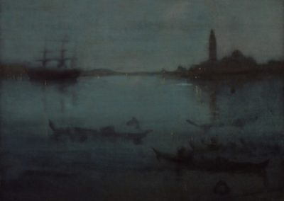 Nocturne in blue and silver - James Whistler (1870)