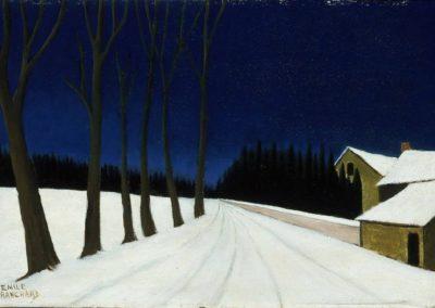 Nuit d'hiver - Emile Branchard (1930)
