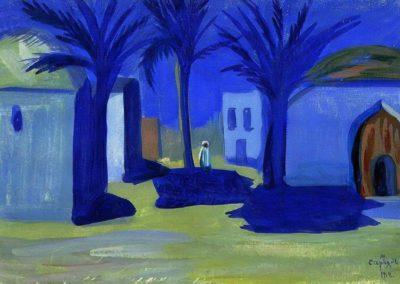 Nuit egyptienne - Martiros Sarian (1912)