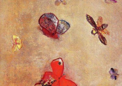 Papillons - Odilon Redon (1910)