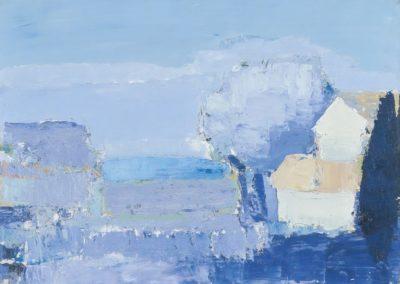 Paysage méditerranéen - Nicolas de Staël (1952)