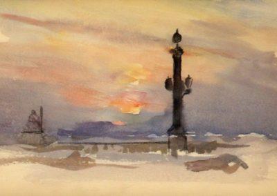 Place de la concorde - Henri Zuber (1895)