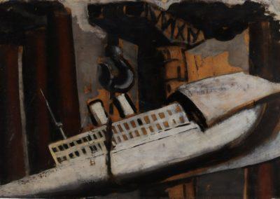 Port - Mario Sironi (1926)