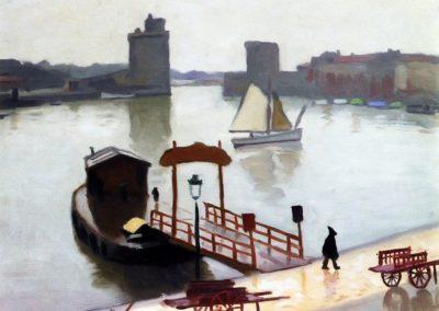 Port de la Rochelle - Albert Marquet (1924)