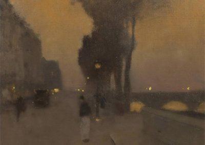 Quai de Bourbon - Luigi Loir (1907)