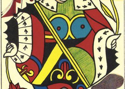 Reine de coeur - Salvador Dali (1969)