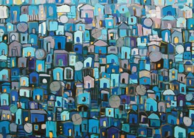 Roofs in the moonlight - Makeda Bizuneh (2013)