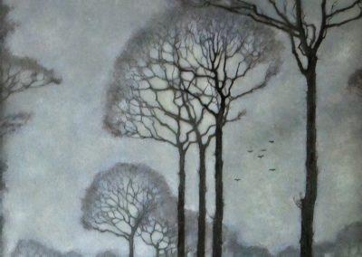 Row of trees - Jan Mankes (1915)