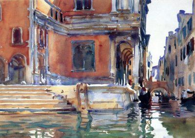 Scuola di San Rocco, Venezia - John Singer Sargent (1903)