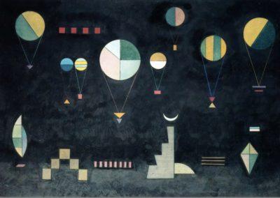 Shallow-Deep - Wassily Kandinsky (1930)