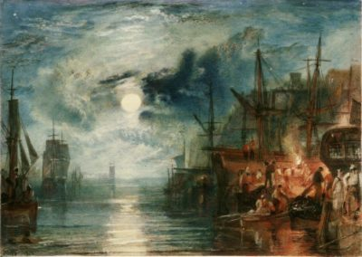 Shields, on the river Tyne - William Turner (1823)