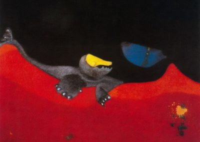 Sign for a school of monsters - Max Ernst (1968)