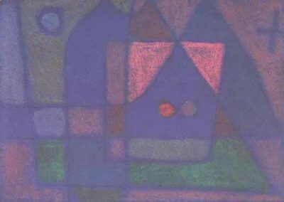 Small room in Venice - Paul Klee (1914)