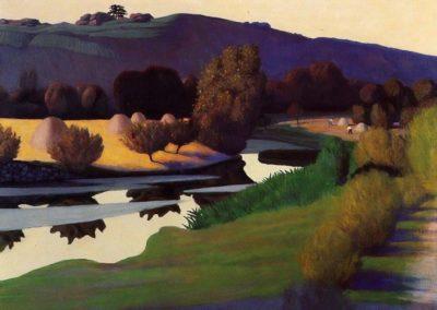 Soiree sur le Loire - Felix Valotton (1923)