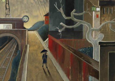 Solitary walker - Gösta Adrian-Nilsson (1918)