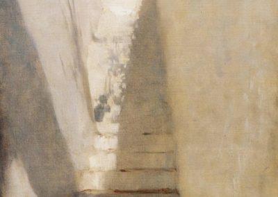 Staircase in Capri - John Singer Sargent (1878)
