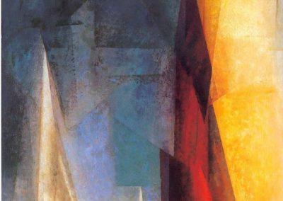 Stiller Tag am Meer III - Lionel Feininger (1926)