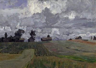 Stormy Day - Isaac Levitan (1897)