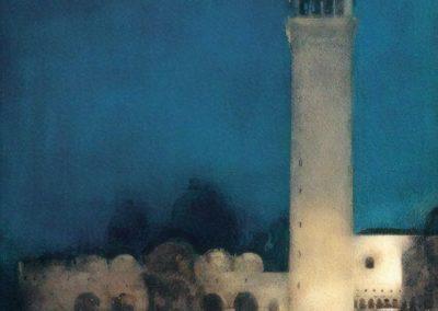 The blue night - Arthur Melville (1897)