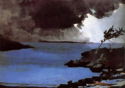 The coming storm - Winslow Homer (1901)