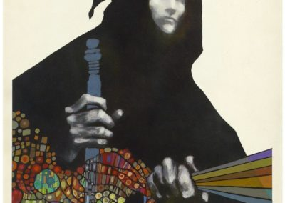 The traveller in black - Leon Dillon (1971)