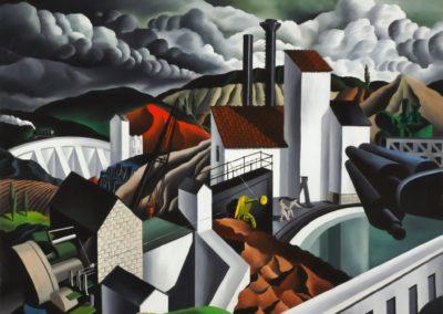 The white dam - Raphael Gleitsmann (1939)