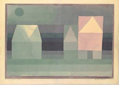 Three houses - Paul Klee (1922)