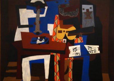 Trois musiciens - Pablo Picasso (1921)